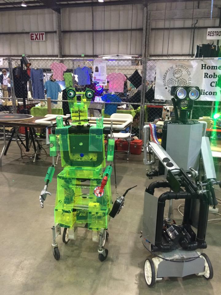 Maker Faire - robots (2)