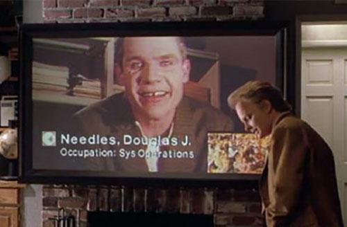 Back to the future - flatscreen TV
