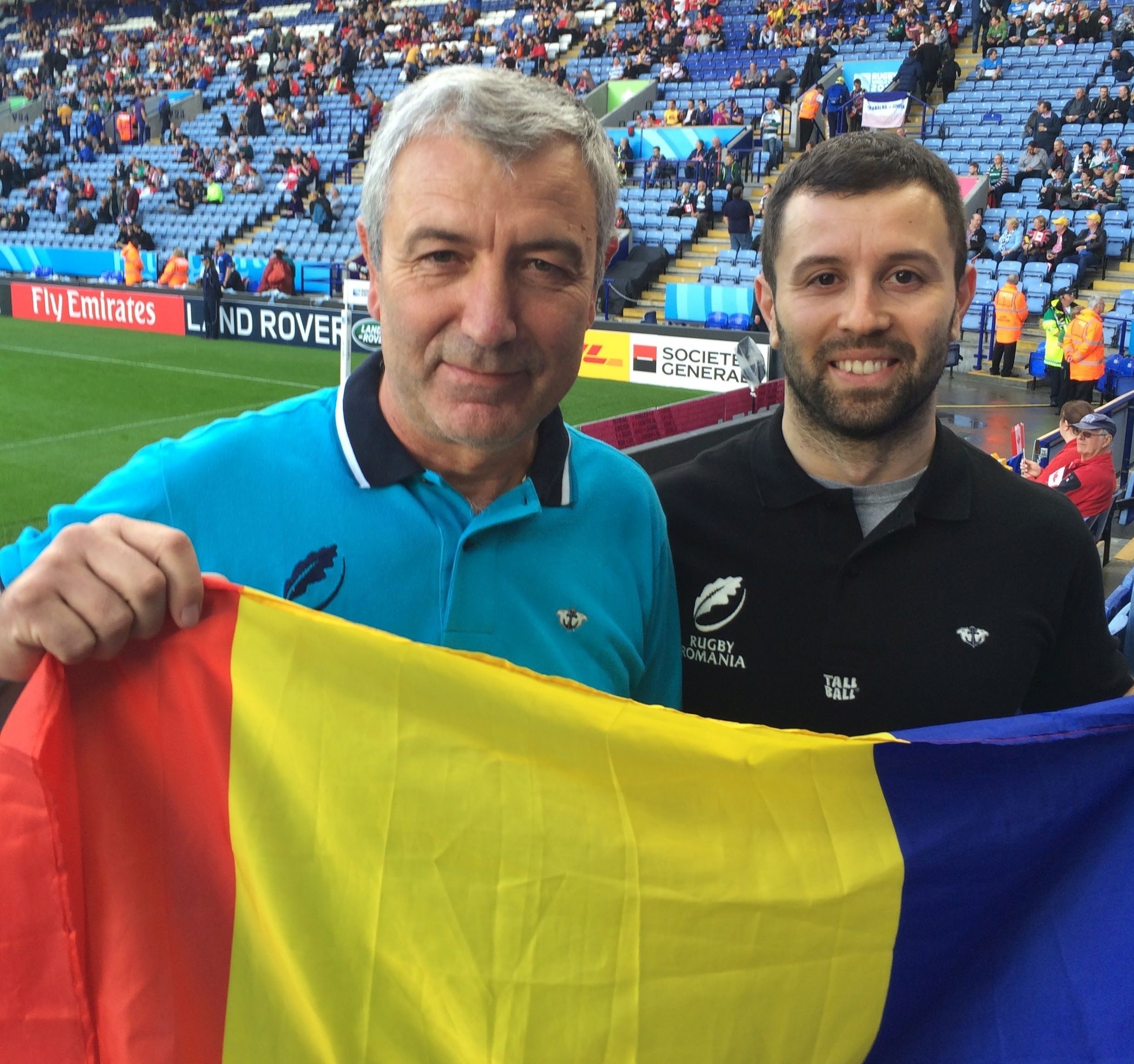 The Voicas - CAN v ROM at Leicester - RWC2015